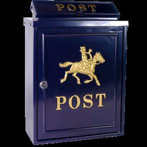 Blauwe brievenbus Wrangler