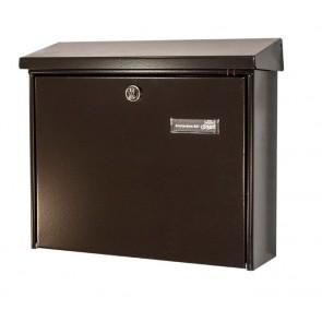 Bruine brievenbus