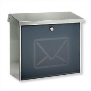 RVS brievenbus Lucca Letter