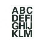 Zwarte letters A-Z 25mm